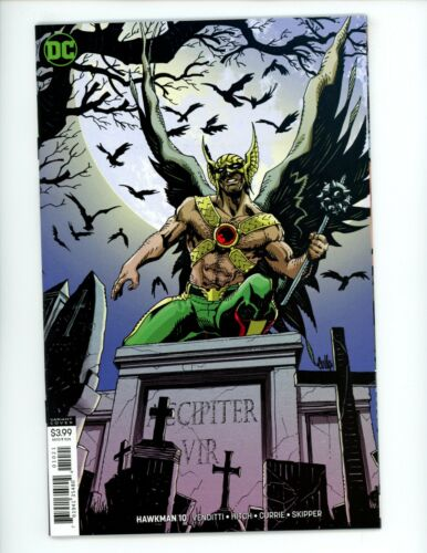 Hawkman #10 (Variant Cover), NM+, 2019