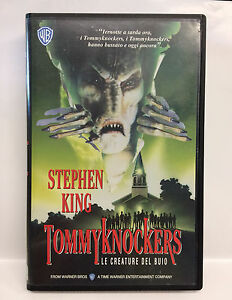 TOMMYKNOCKERS-le-creature-del-buio-VHS-STEPHEN-KING