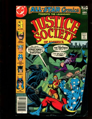 JUSTICE SOCIETY OF AMERICA #70 (9.2) A PARTING OF WAYS!