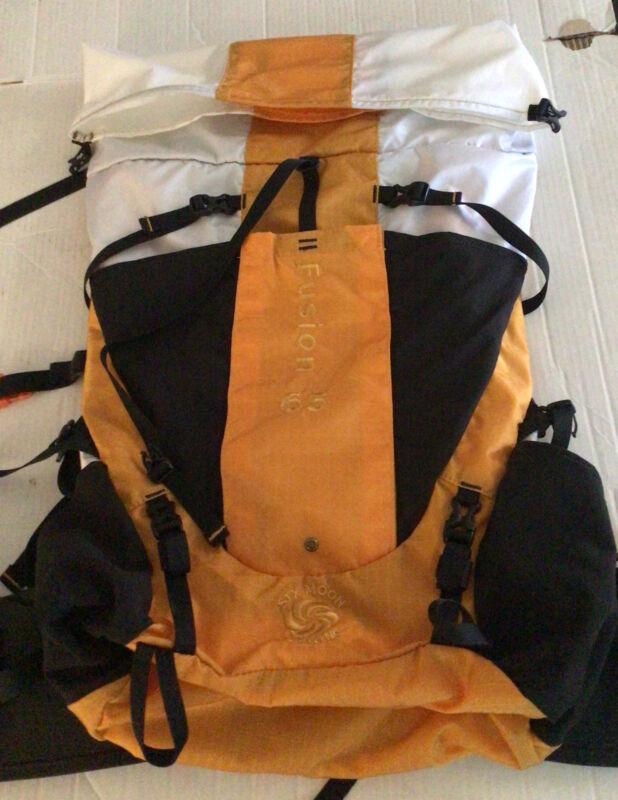 Six Moon Designs Fusion 65 Hiking Backpack,Lightweight M/S H2O Backpacking Pack