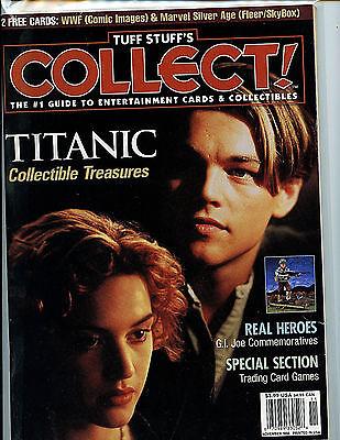 Tuff Stuff Collect Magazine Issue # 62 nm new unread Nov 1998 Guide H28