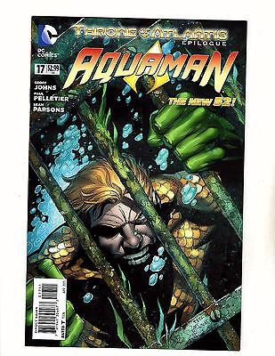 Aquaman #17 (2013, DC) VF New 52 Throne of Atlantis 1st App of Murk! Movie