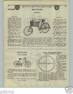 1924 Paper Ad Grocery Delivery Bicycle Front Basket Reading America Panama