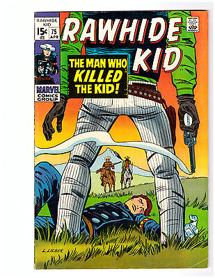 RAWHIDE KID # 75 in FN condition a 1970 MARVEl Western comic