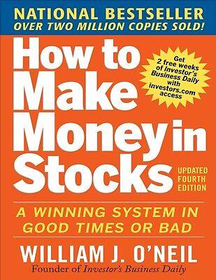 How to Make Money in Stocks by William O'Neil (E-B0OK  E-MAILED)