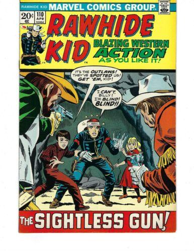 Rawhide Kid #110 - The Sightless Gun!