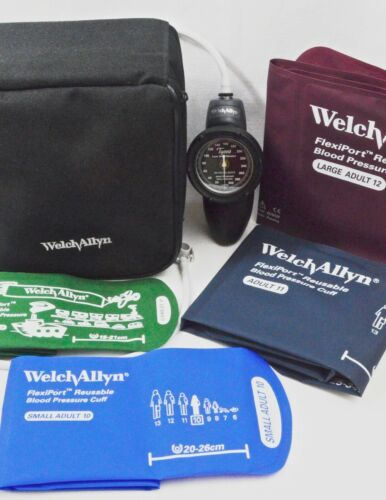 Welch Allyn DS58-MC Sphygmomanometer Aneroid Durashock Hand LF Multicuff Gauge