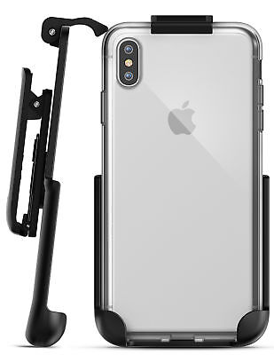 iPhone XS Max Belt Clip Clear Case Cover with Holster Clip   Slim Transparent Cover Case Clear Belt Clip