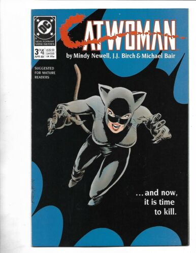 Catwoman #3, 1988, 9.4, NM, 3rd CatWoman ever, Limited 4 part Series, Copper Age