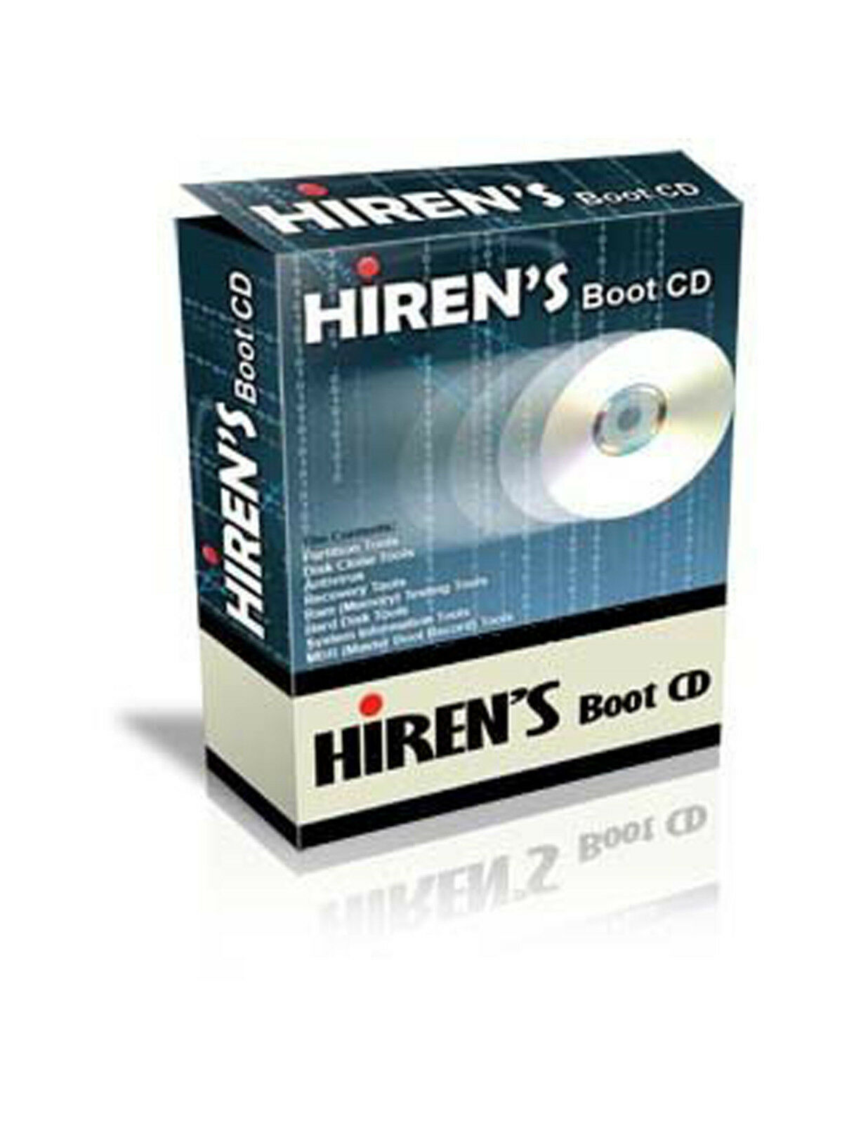 Hirens Boot CD - Computer Repair Tech & Password Recovery