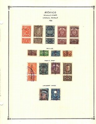 Kenr2: Mexico Internal Revenues Collection on Pages