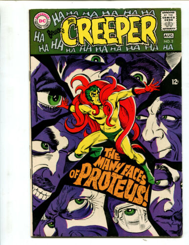 CREEPER #2 THE MANY EYES OF PROTEUS! (7.5) 1968