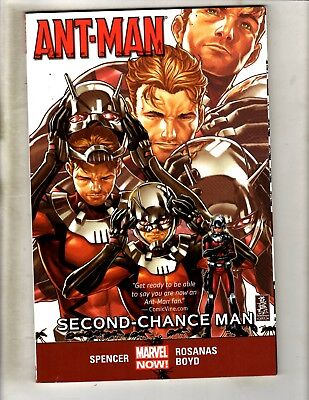 Ant-Man Second Chance Man Vol. # 1 Marvel Comics TPB Graphic Novel Book (Ant Man Vol 1 Second Chance Man)