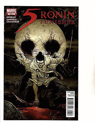 5 Ronin: Punisher #3 (2011, Marvel) VF Cover