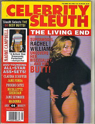 Rachel Williams Celebrity Sleuth Magazine 1996 Vol 9 No 5 Naomi Campbell Madonna