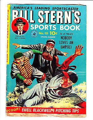 Bill Stern's Sports Book   No.10     : 1951 :     : Umpire Cover! :