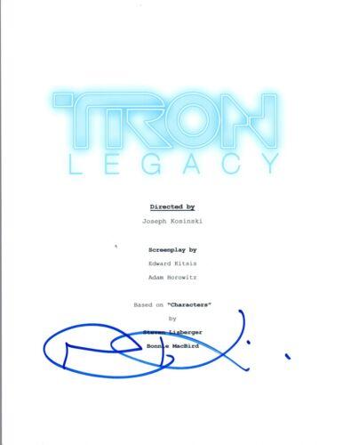 Joseph Kosinski Signed Autographed TRON LEGACY Movie Script COA