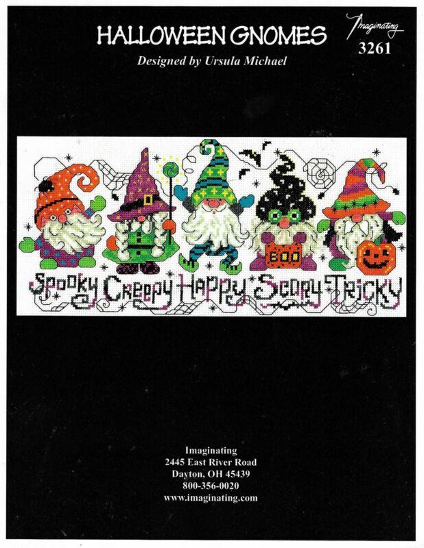 Halloween Gnomes by Imaginating cross stitch pattern