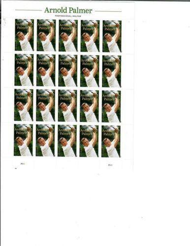 US Stamps Arnold Palmer Sheet