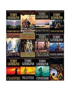 Sword of Truth Collection Set 1-12 Adult Fantasy Fiction Series Terry Goodkind!!