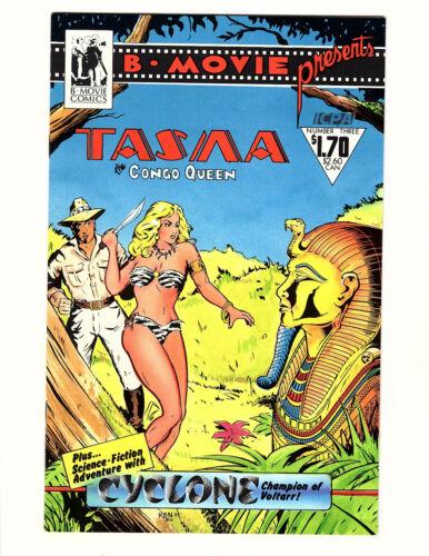 B-Movie Comics Presents #3 (1986) FN/VF Tasma the Congo Queen