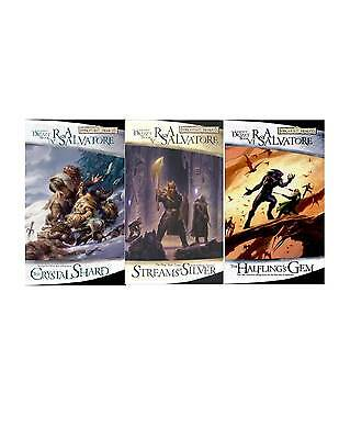 The Icewind Dale Trilogy Books 4-6 Drizzt Fantasy Fiction Collection Series NEW!