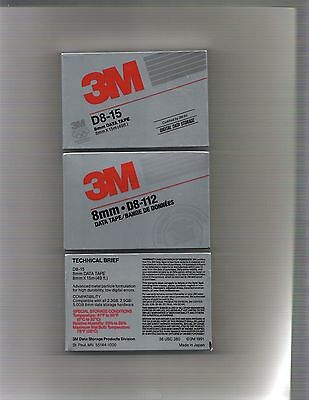 8mm Data Tape D8-15 by 3M (Halloween Information)