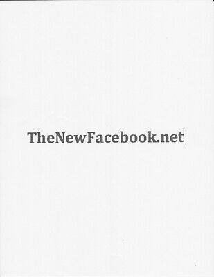 Thenewfacebook.net Domain Name For Sale