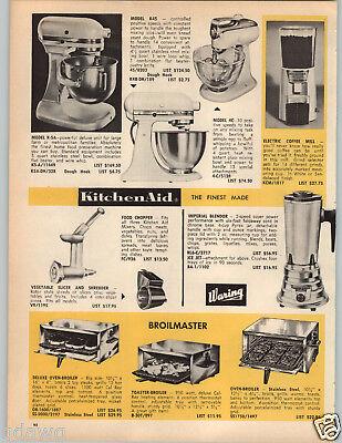 1964 PAPER AD KitchenAid Food Mixer Model K-5A K45 4C Kitchen Aid