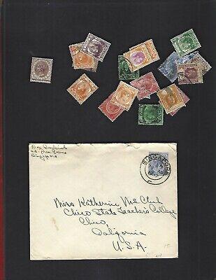 Straits Settlements sc#81 (1892) MH + Nice lot