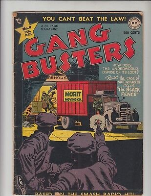 GANG BUSTERS #8 VG