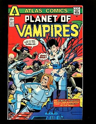 Planet of Vampires #3 VF- Heath Capt Galland Craig Deaths of