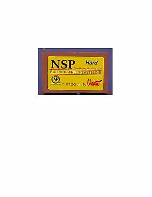 Chavant NSP Non-Drying Modeling Clay-Hard-Brown-sculpting modeling