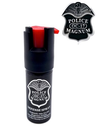 Police Magnum pepper spray 1/2oz unit safety defense security protection
