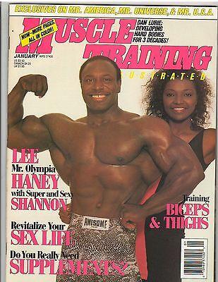 Muscle Training Illustrated Bodybuilding Magazine Lee + Shannon Haney 1-91 comprar usado  Enviando para Brazil