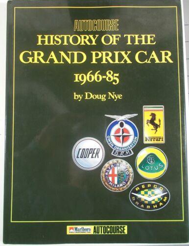History of the Grand Prix Car 1966-1985