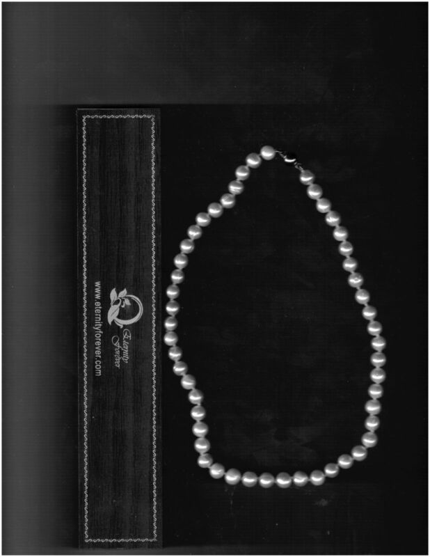 Genuine Pearl Necklace Approx 16 inches