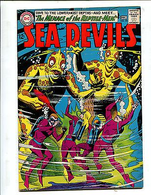 SEA DEVILS #20 THE MENACE OF THE REPTILE-MEN! (7.5) 1964