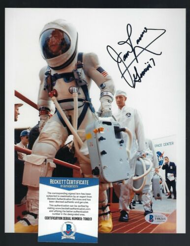 James Lovell signed 8x10 photograph Beckett Authentic Apollo Gemini 7 Astronaut