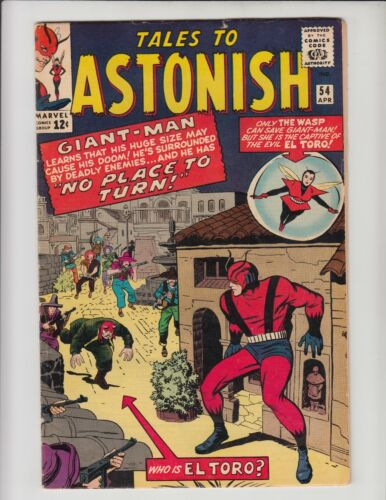 TALES TO ASTONISH #54 VG+