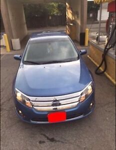 2010 Blue Ford Fusion SE