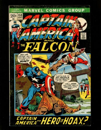 Captain America #153 FN+ 1st Brief 1950