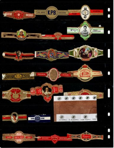 CIGAR BANDS..    .. ALL DIFFERENT ( OFFER (N234)*