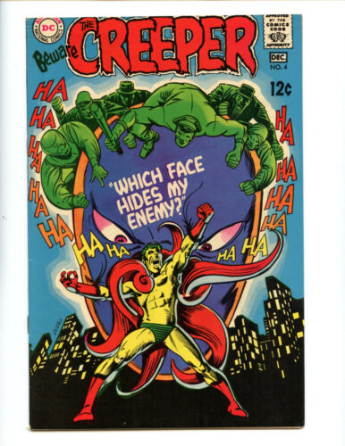 Beware the Creeper 4 High Grade VF+ 8.5! Wild DItko art
