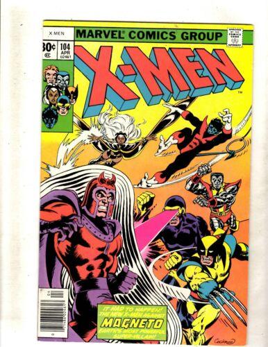 (Uncanny) X-Men # 104 VF/NM Marvel Comic Book Angel Beast Wolverine Phoenix JF15