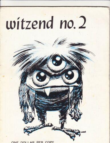 WITZEND #2 WALLY WOOD 1967 STEVE DITKO REED CRANDALL HARVEY KURTZMAN MARTIN RARE