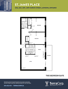 Updated Two Bedroom at Huron/Highbury with a Pool! London Ontario image 10