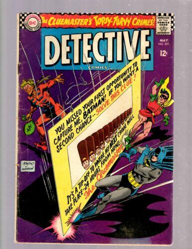 Detective Comics # 351 FN DC Comic Book Batman Batgirl Robin Gotham Joker JK7