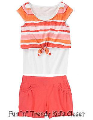 NWT Gymboree DESERT DREAMS Girls Size 6 or 8 Knit Shorts Tee Shirt Top 2-PC SET