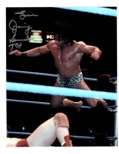WWE  SUPERFLY JIMMY SHUKA    Wrestling   8 X 10  AUTOGRAPH PHOTO